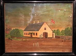 Se gårdmalerier med en arkitekt Vendsyssel Historiske Museum har rundvisning med Niels Bendsen
