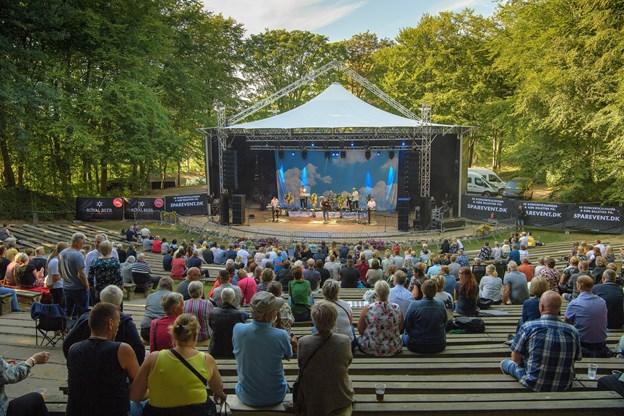 SparEvent fylder hver en plads i parken om 12 dage, hvor Kim Larsen går på scenen til en total udsolgt koncert.  Foto: Peter Broen