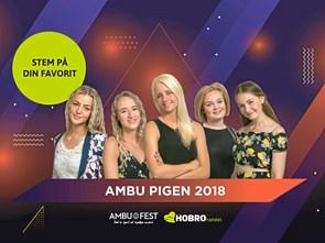 Hvem synes du skal være Ambu Pigen 2018?