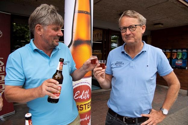 Helle Møller Larsen og Peter Mørk (foto)
