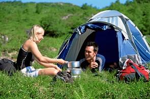 Her kan du frit sove i telt