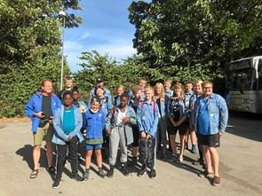 FDF Hobro har indtaget Schweiz: badeture i kolde bjergsøer og besøg i klatreparker