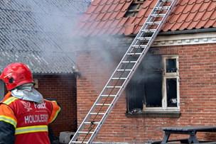 Stuehus udbrændte: Ilden opstod i børneværelse