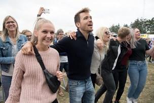 Koncert giver overskud trods køligt gråvejr