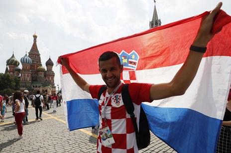 Kroatiske myndigheder udsteder 4600 rejsepas til VM-fans