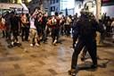 VM-fest skabte sammenstød med politi i flere franske byer