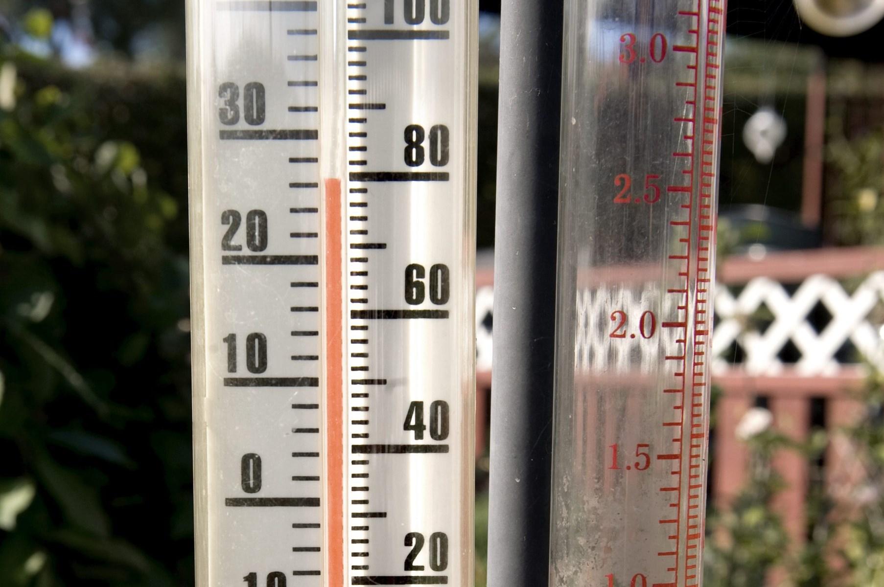 Mandag var årets varmeste dag: Så højt kom temperaturen op
