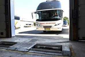 Busser i topform til Dana Cup
