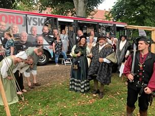 Så er bussen parkeret: Kom til kaffe i middelalderen