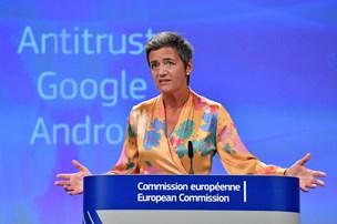 Vestager smækker Google en rekordbøde