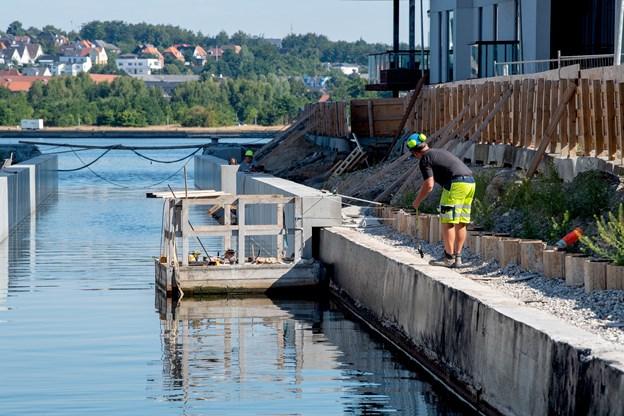 Å bliver nyt sted at hygge sig i Aalborg - men arbejdet trækker ud