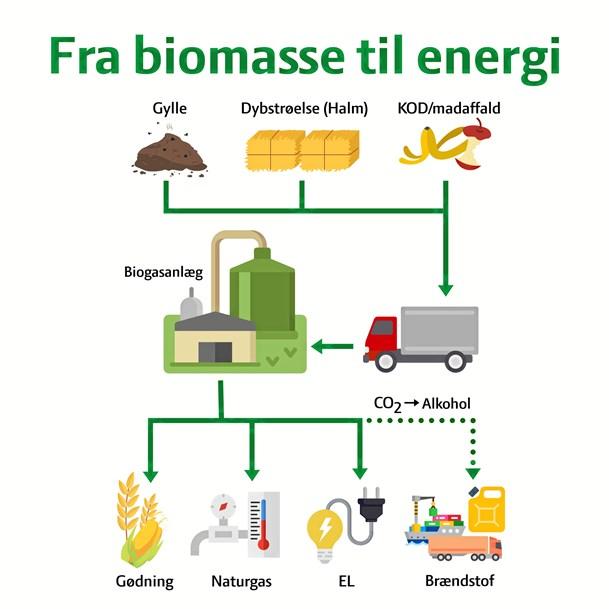 En duft af biogas på dyrskuet