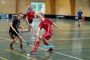 Talentfabrik: Lille floorballklub sender seje piger til landsholdet