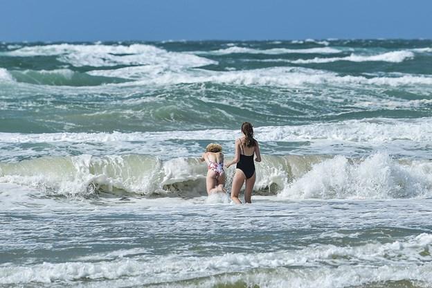 Formidabelt sommervejr fortsætter: Mere vind i Nordjylland