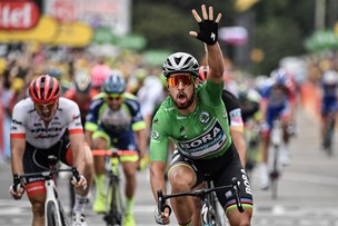 Tour de France: Sagan vinder 13. etape i decimeret sprinterfelt