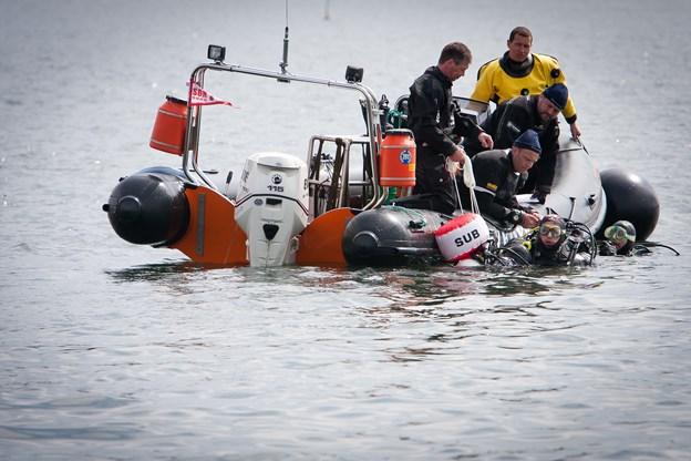 Fiskeres garn til fare for dykkere