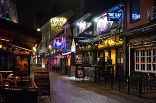 Aggressive fulderikker skabte sig i Aalborgs natteliv
