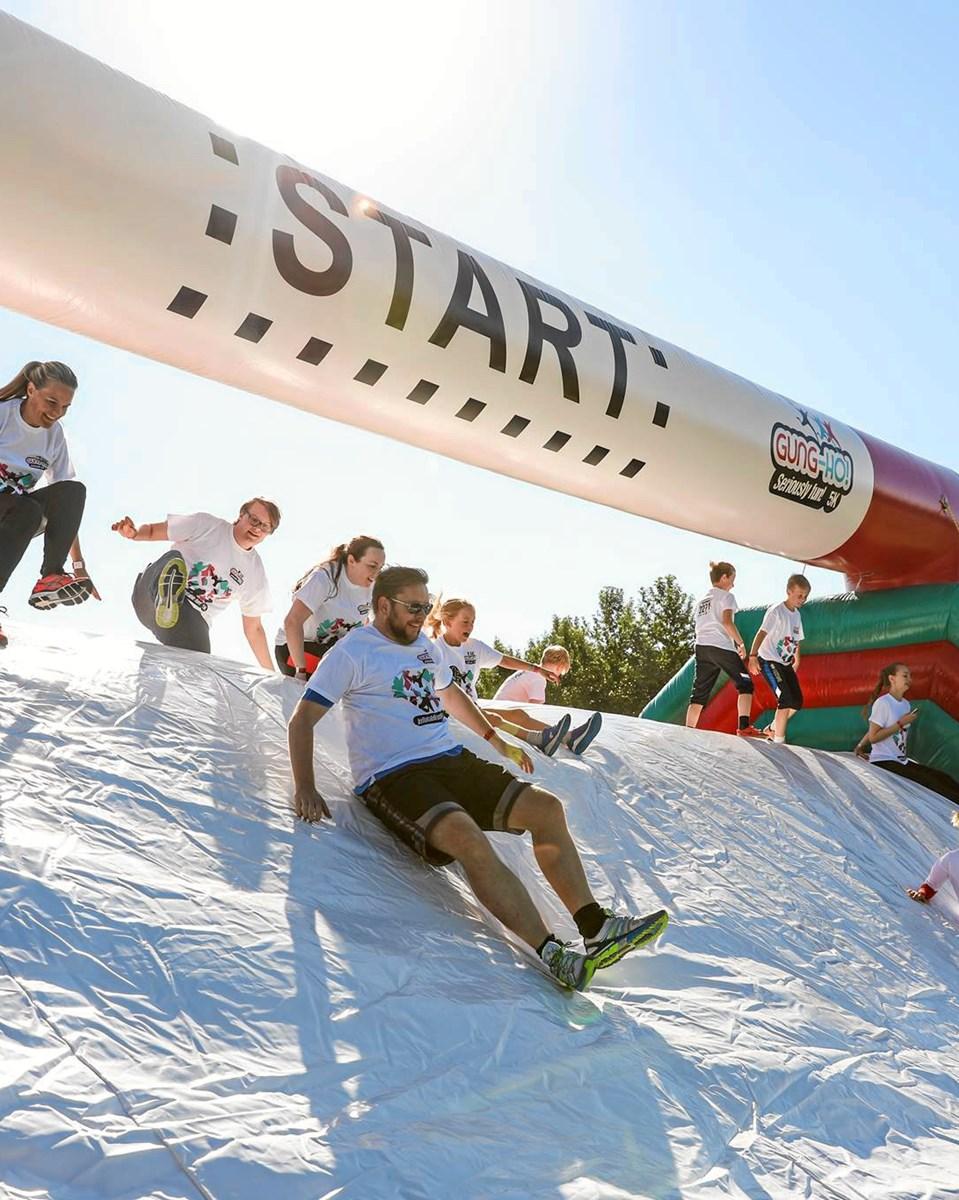 Kæmpe løbefest: Gung-Ho puster sig op i Aalborg