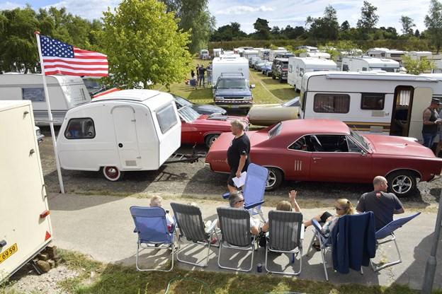 US Car Camp er startet - se billederne fra åbningsceremonien