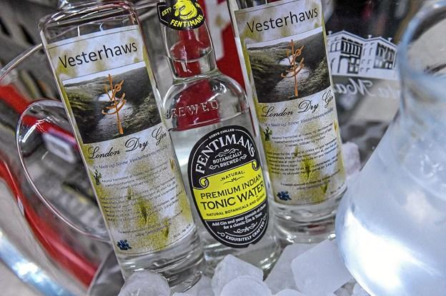 Gin og tonic følges ad. Foto: Ole Iversen