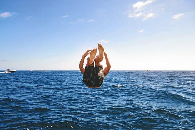 Formålet med vandfestivalen er at introducere aalborgenserne for vandsport. Foto: Waater