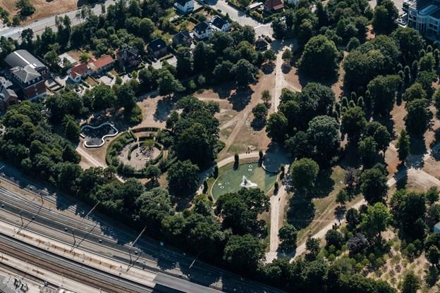 Kildeparken kunne også godt bruge en springende kilde.