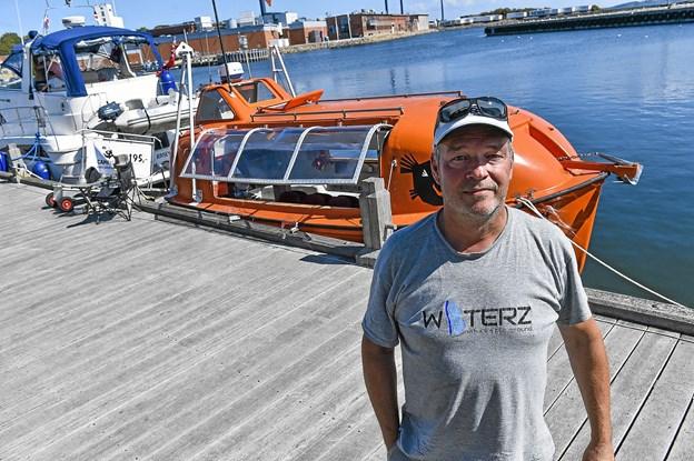 Camfish er en tidligere, meget sødygtig redningsbåd fra en norsk færge. Nu er den oplevelsesskib med kamera som naturnysgerrige kan bruge til at udforske fjordbunden.