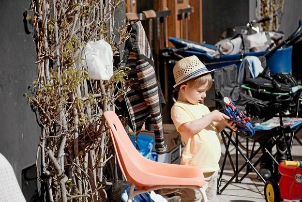 Der er noget for alle aldre til markedet. Foto: People of Aalborg