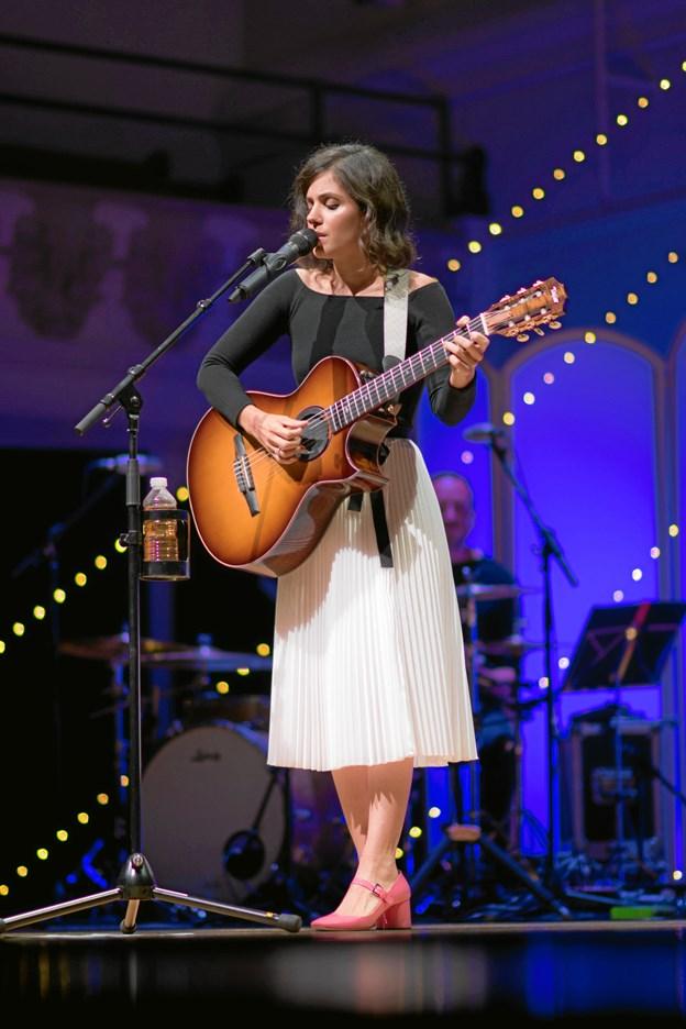 Katie Melua har været i Aalborg flere gage, men det bliver hendes første solokoncert. Pr-foto