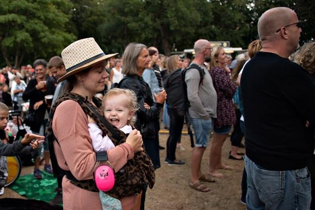 Publikum i alle aldre deltog i Danmark Dejligst i Plantagen. Foto: Kurt Bering