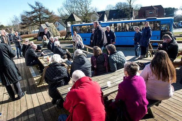 Sidst de himmerlandske landsbyrepræsentanter var samlet til konference i Løgstør, var de bl. a. på ekskursion til Bonderup i Jammerbugt Kommune.  Arkivfoto