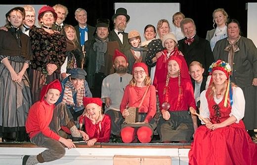 På et møde 9. august er der mulighed for at høre nærmere om årets julespil i Hobro. Billedet her er fra sidste års julespil. Privatfoto: Marianne Andersen
