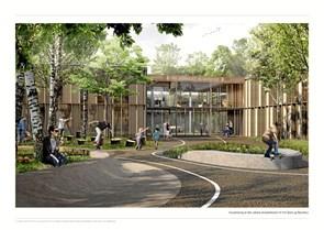 De skal bygge den nye skole i Vrå