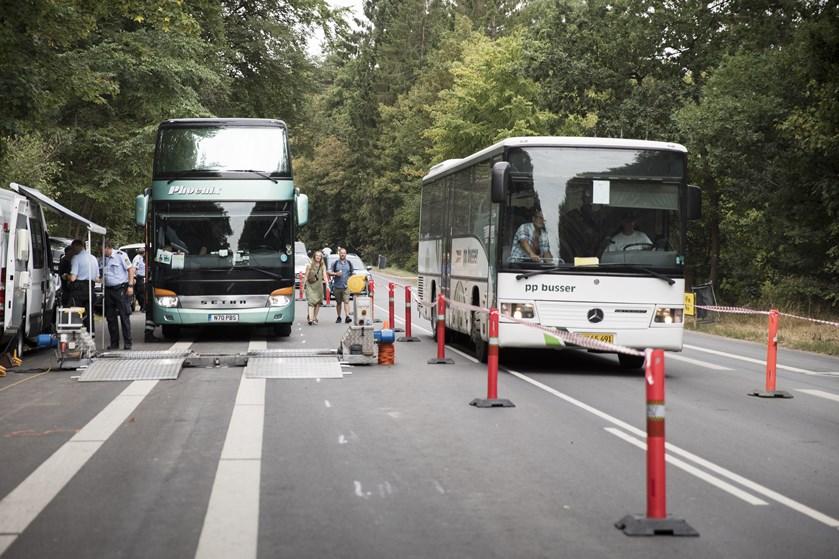 Over halvdelen af shuttlebusserne ved Smukfest, der er kontrolleret onsdag og torsdag er dumpet.