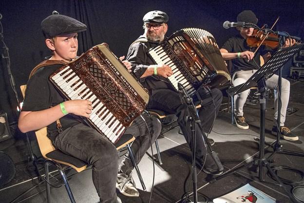 Her er det bandet Skidtmas, der spillede på festivalen sidste år. Arkivfoto: Lars Pauli