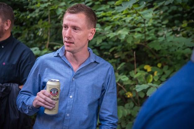 Dann Nielsen, Hobro, har været til Skovrock med Kim Larsen syv-otte år i streg og håber på, han skal af sted mange år endnu.