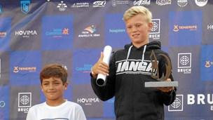 12-årig nordjyde vinder surf-VM