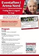 Børnecancer-arrangement i fare for at blive aflyst