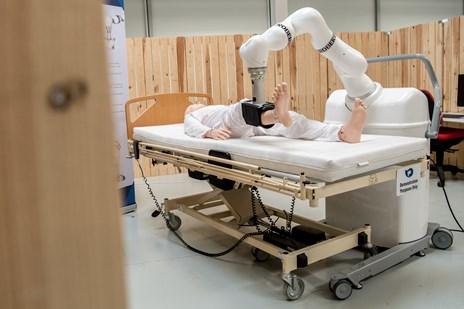 Robotten Robert er klar til at erobre verden