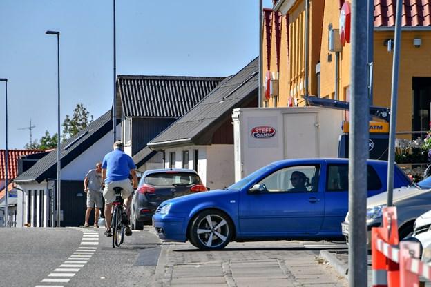 Slut med parkering: Her er det utrygt at være cyklist