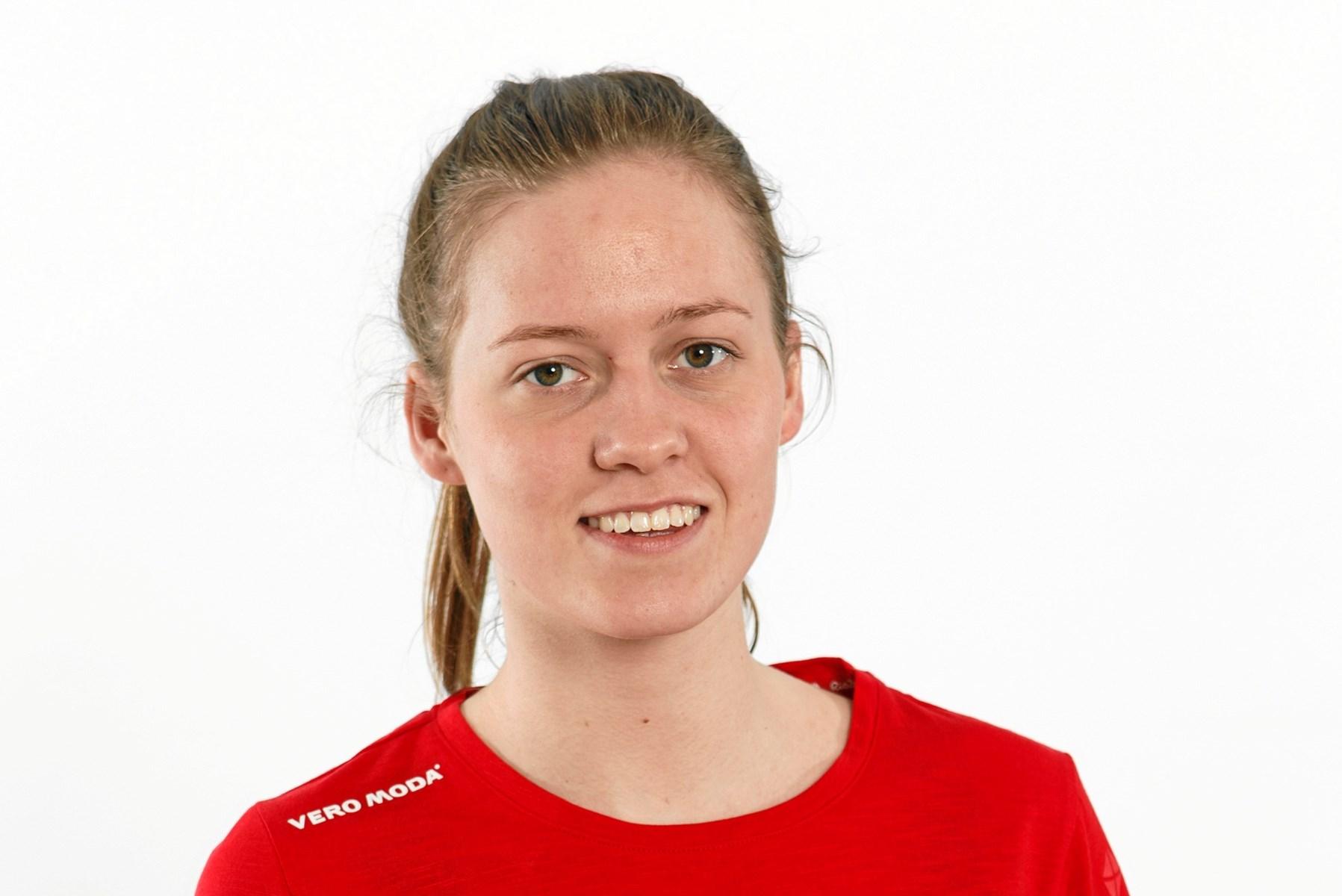 20-årige Laura Martens Christensen repræsenterer Svømmeklubben NORD i Irland. Foto: Jyskpressefoto.dk