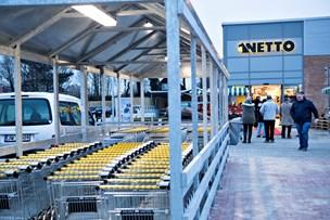 Byggeriet er gået i gang: Netto åbner ny butik