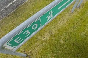 Uheld på motorvejen: Spor var spærret