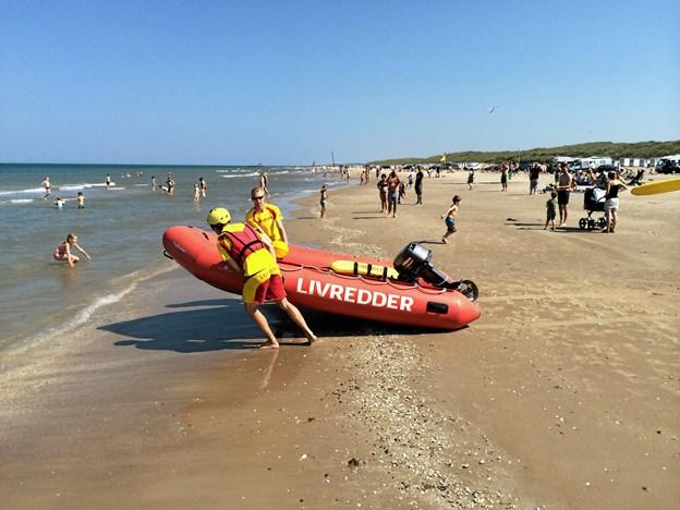 Nu tager livredderne hjem: Fra næste uge er der ingen hjælp på stranden