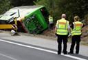 Tysk politi: En dansker er blandt kvæstede på ulykkesbus