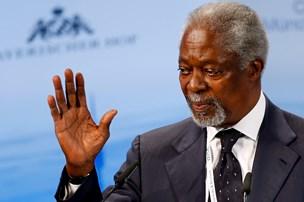 Tidligere FN-general-sekretær Kofi Annan død