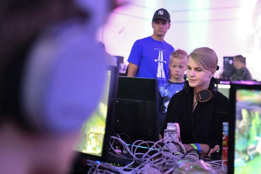 Der blev gamet på livet løs i Aalborg Kongres & Kultur Center lørdag