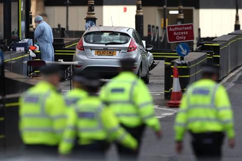 Påkørsel af civile ved britisk parlament har ført til anklager mod britisk statsborger for terrorhandling.