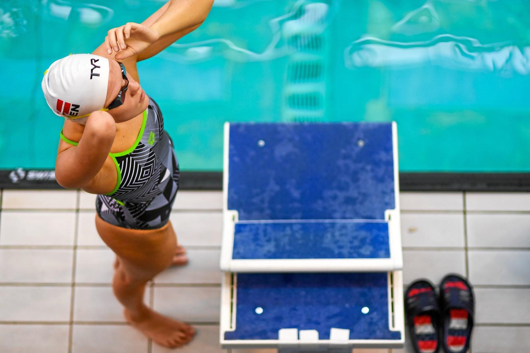 Drømmeafslutning: Bronze til Nørresundby-svømmere