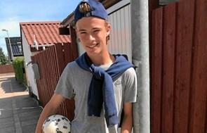 Ungt fodboldtalent har store drømme